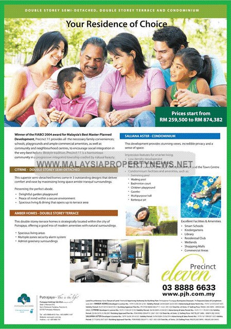 Precinct 11 Putrajaya | Prime Freehold Green City · Palladium Putrajaya