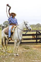Tocando Berrante (Rita Barreto) Tags: brasil da robson cavalo cultura tropa pantanal caipira matogrossodosul fazenda porteira berrante boiadeira pantaneiro guampa ponteiro aquidauana peopantaneiro tocandoberrante robsonnocavalo