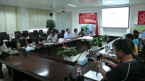 北崙濱海新城建設指揮部討論會,晁瑞光攝影
