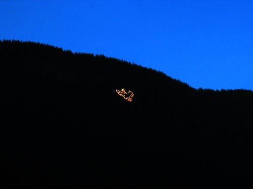 Tiroler Adler am Mendelzug