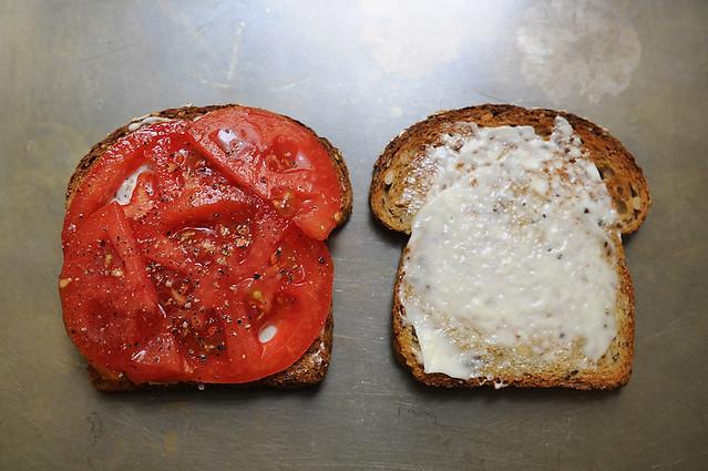 Best Tomato Sandwich