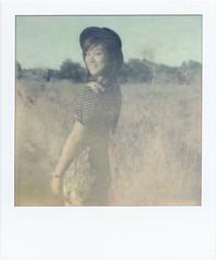 Summer '10 (Rinthe) Tags: portrait film girl beautiful beauty polaroid sx70 magic dream tip instant davis 70 px firstflush autaut colorshade px70 panpola theimpossibleproject