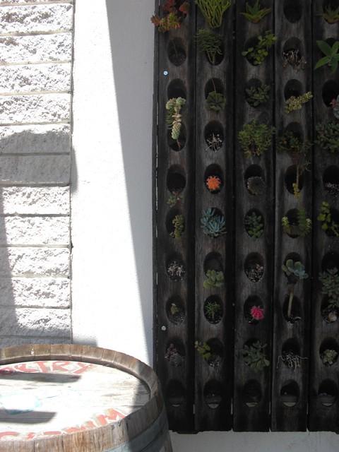vertical gardens...love