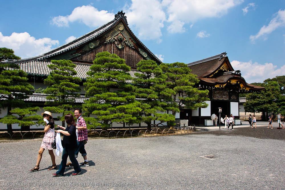Nijō Castle @ Kyoto, Japan