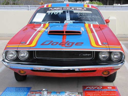 1970 Dodge Drag Race Challenger T/A