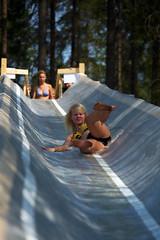 Vesiliukumäessä (Timo Vehviläinen) Tags: water suomi finland scout vesi evo scouting leiri partio vesiliukumäki kilke finnjamboree