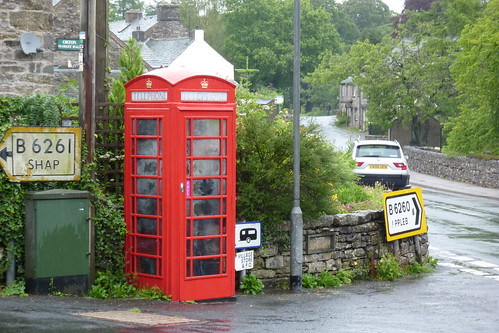 Orton's red phone box