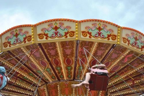 Vintage Fairground at Vintage at Goodwood