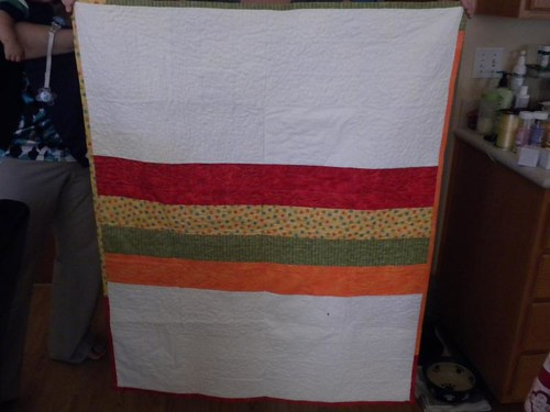 Anchor Baby Quilt back