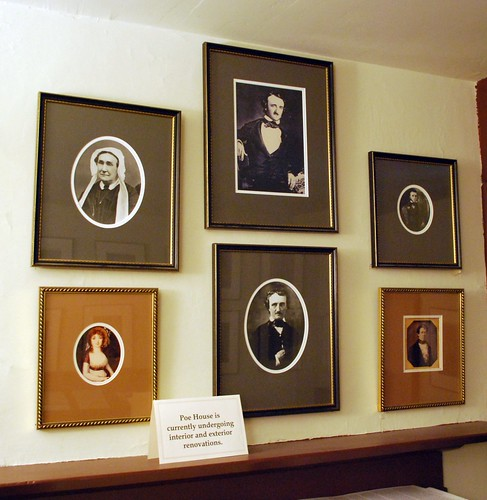 Portraits in the Poe House