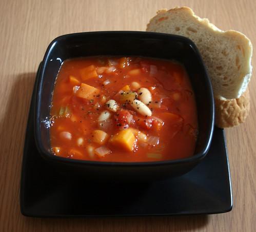 Tuscan Style Bean Soup 1