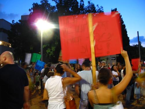 Demonstration Against Deportation