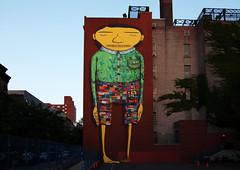Os Gemeos & Futura 2000 - PS 11 Mural (jamie nyc) Tags: nyc newyorkcity streetart graffiti murals aerosolart spraypainting osgemeos futura2000 strassenkunst chelseanyc outlawart photobyjimkiernan ps11chelsea publicschool11 ps11mural osgmeosps11