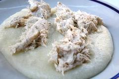 Bacalao Mantecado con Polenta