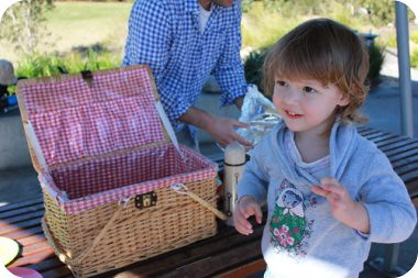 $6 picnic basket = awesome!
