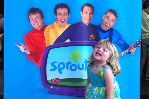 Catie with the Wiggles
