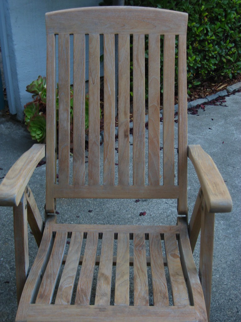 Sanded Chair