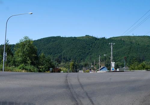 SR 105 @ US 101 southward