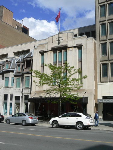 Notman Photography and Associated Screen News Building, Montreal