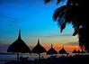 Yesterglow * | Panglao Island, Bohol, Philippines (.I Travel East.) Tags: sunset beach dusk philippines tropical bohol boholbeachclub panglaoisland boholphilippines yesterglow