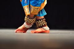 DSC_4173 (V Challa) Tags: bells dance nikon artistic zoom stage indian traditional steps classical andhra saree kuchipudi anklets andhrapradesh d90 7020028