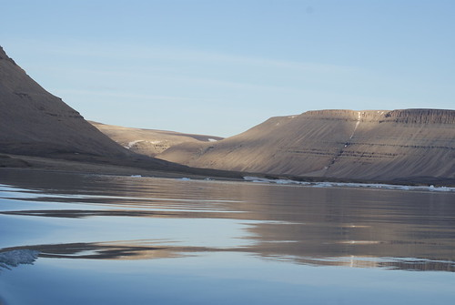 Reflections off Devon ISland