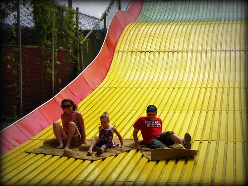 Giant slide - state fair