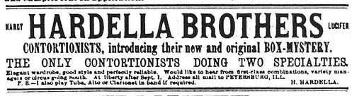 Hardella Brothers ad