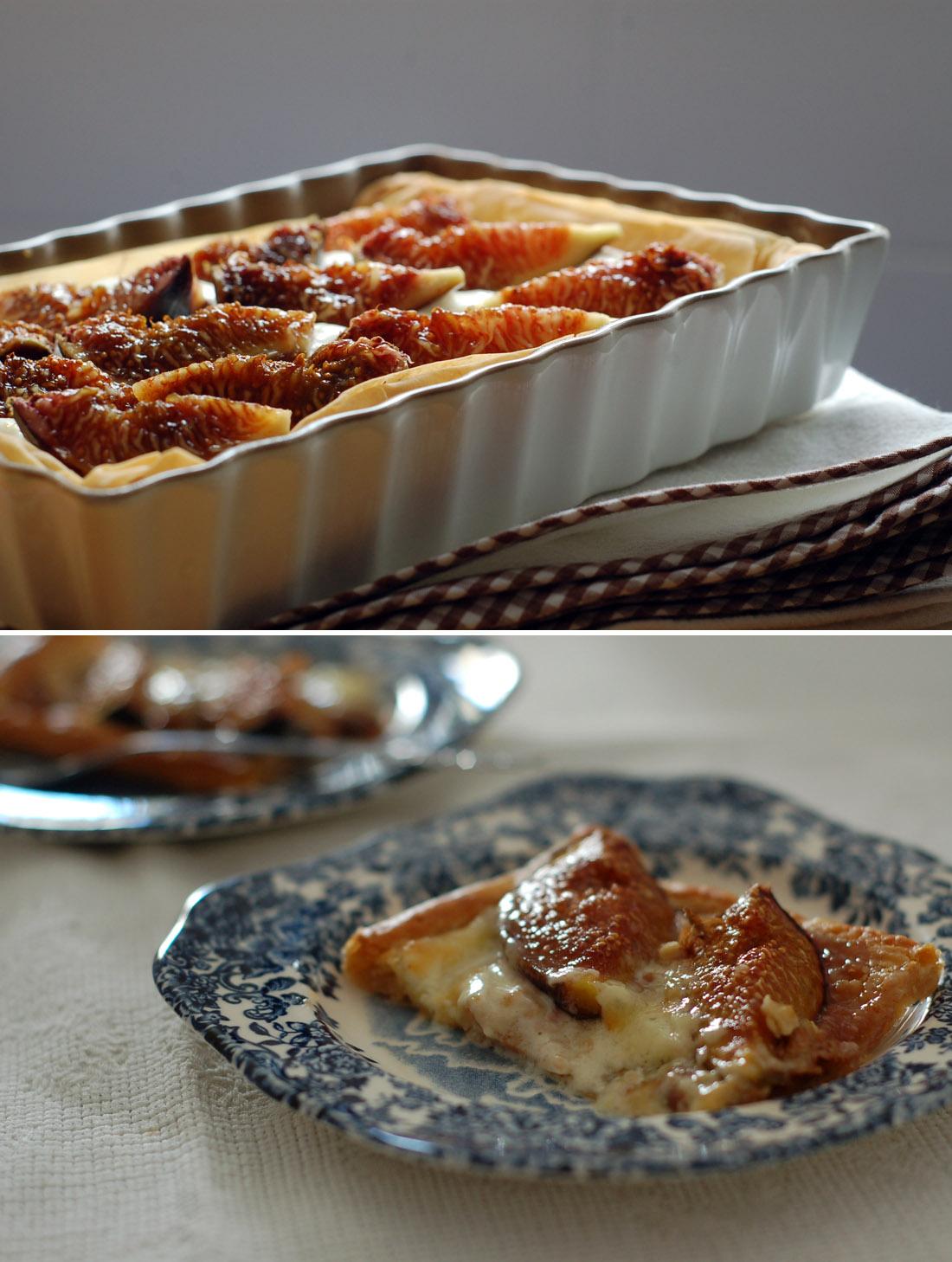 tarte baklava figos // Baklava Fig Tart