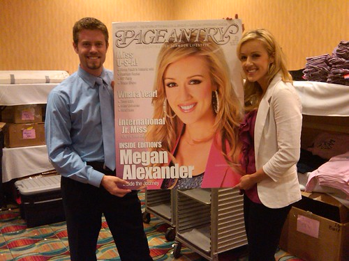 Megan Alexander Pageantry Mag Cover