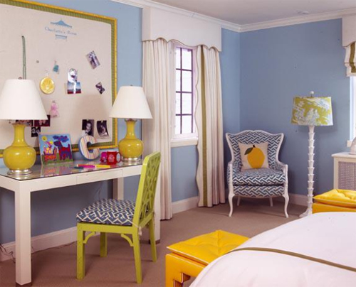 Ruthie Sommers Interiors - Colorful Kids Room