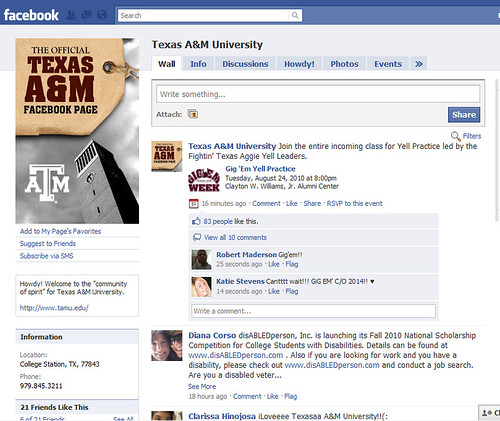 Texas A&M University on Facebook