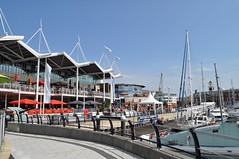 Gunwharf Quays (crwilliams) Tags: hampshire portsmouth date:month=august date:day=15 date:hour=14 date:wday=sunday date:year=2010