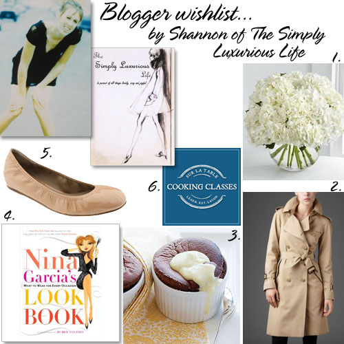 The Simply Luxurious Life's wishlist