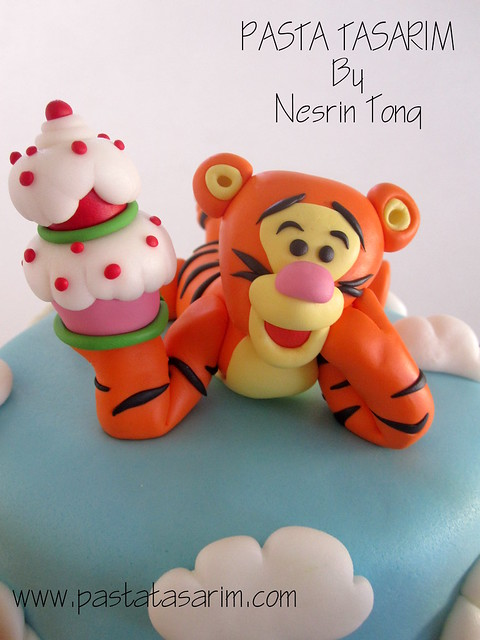 WINNIE THE POOH CAKE - NAZ BIRTHDAY CAKE