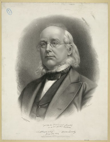 Horace Greeley, 1872
