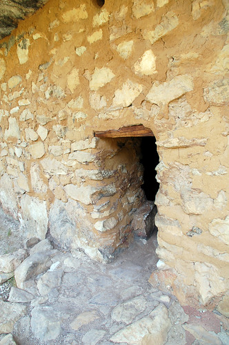 cliff dwelling doorway