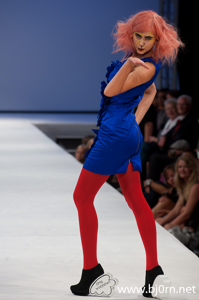 Foto: Bjørn Christiansen, Fam Irvoll, visning på Oslo Fashion Week Fall 2010