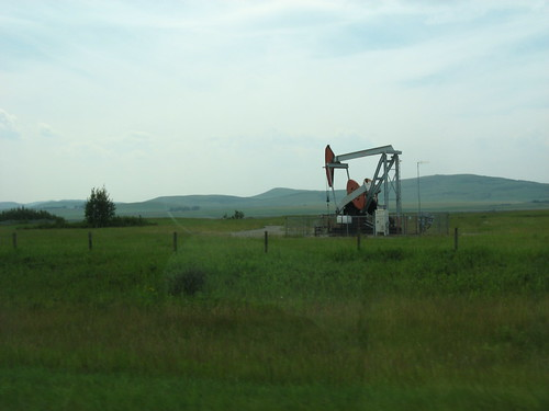 Oil at the Farm