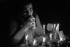 (Lui Lopes) Tags: bw religious candles flames faith religion saints pb santos spirituality spiritual velas religio f espiritual chamas espiritualidade espiritualidad religin religioso religiosidade espaocultural paularibas mciomazzaropi