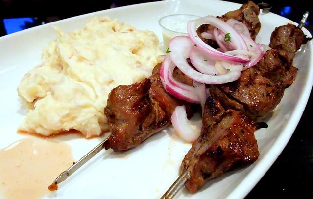 Grilled Lamb Kebab