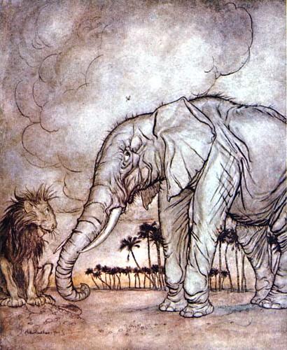 Leo et Elephantus