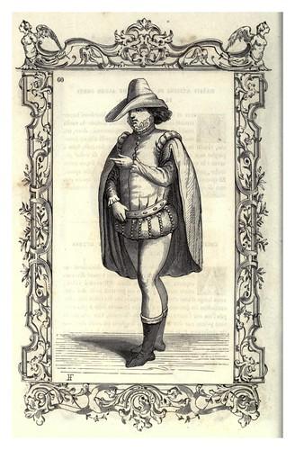 006-Vestimenta de la antigua juventud italiana-Habiti antichi et moderni di tutto il mundo- Cesare Vecellio