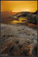 (bretoart) Tags: sea roses orange mar nikon nightshot nocturna naranja rocas roques d300 sortidazz martabret