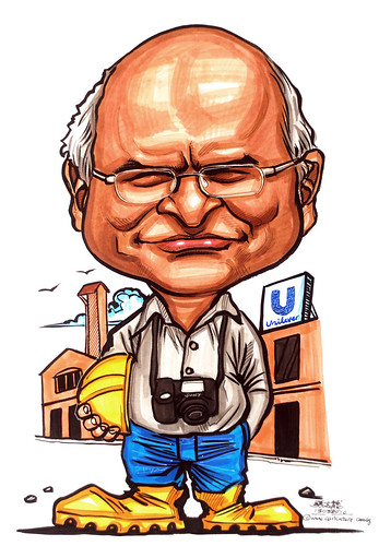 Caricature for Unilever