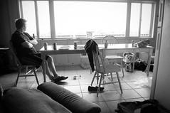 Morning After (Travis Cuykendall) Tags: white black night la washington cabin mess joe dirty messy wa push after