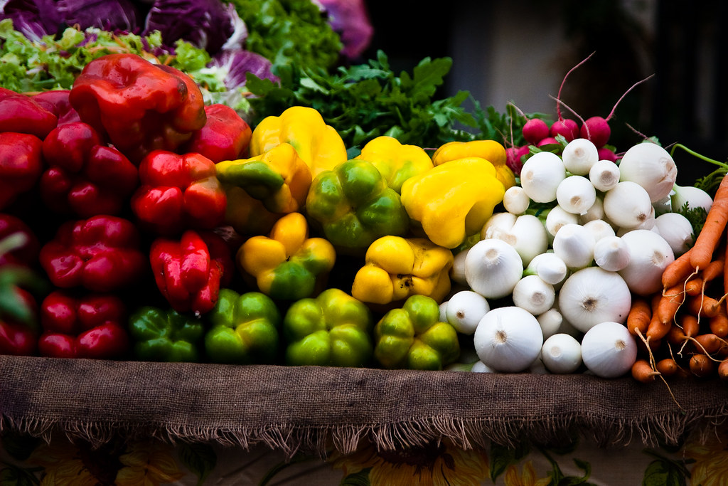 Fresh vegetables by Lars P., on Flickr