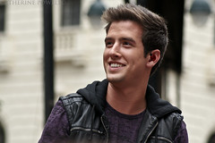 Logan Henderson (Catherine Powell | catherinepowellphotography.net) Tags: nyc macys backtoschool heraldsquare august15 81510 bigtimerush loganhenderson