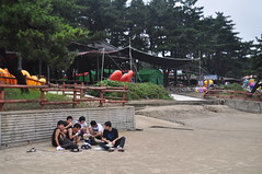 Beach for youth