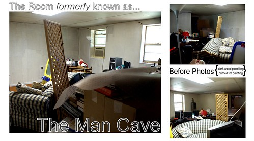 The Room Formerly Known as the Man Cave....Gets a Makeover